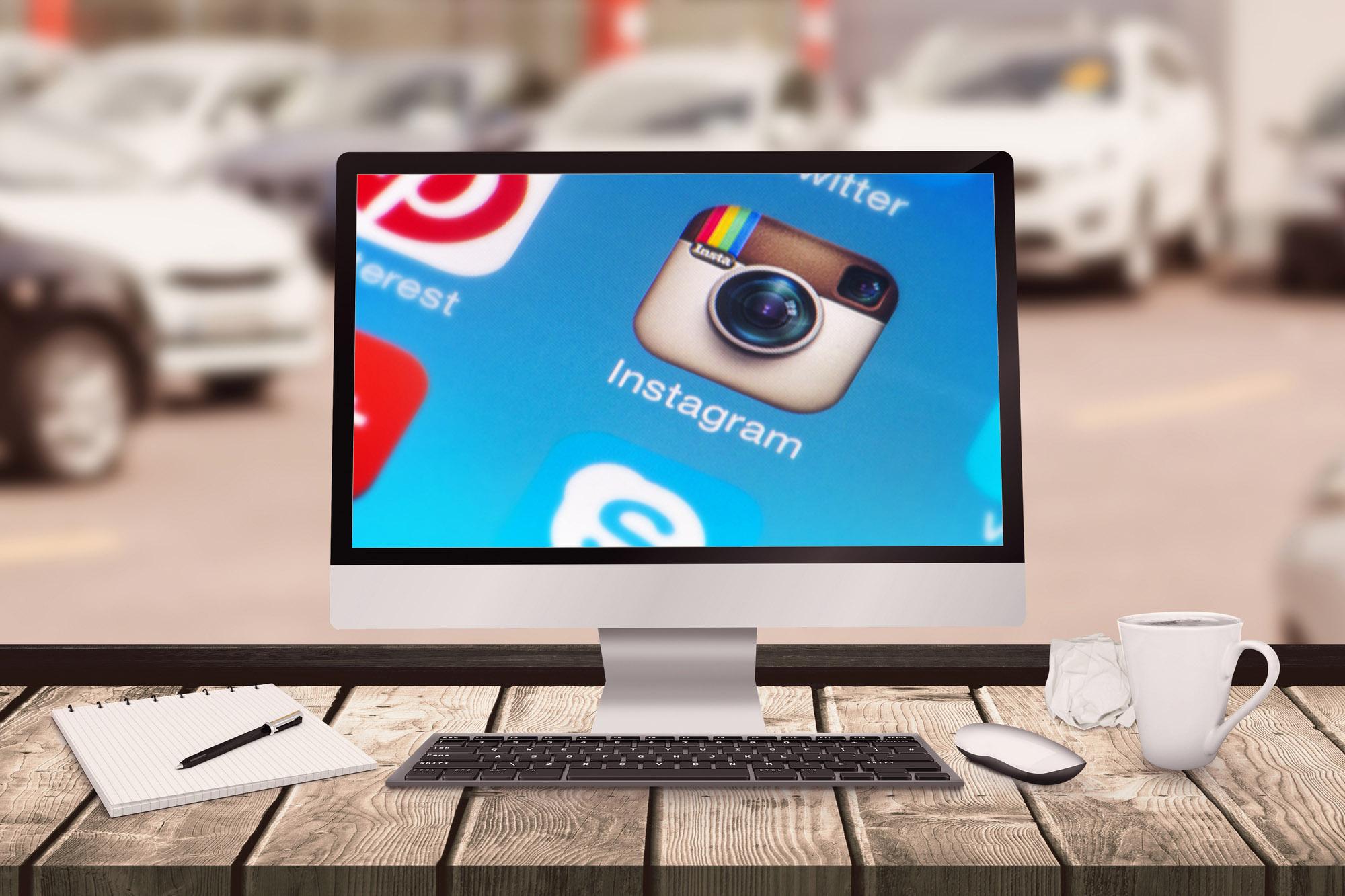 Sistema para Revendas de Veículos integração com instagram