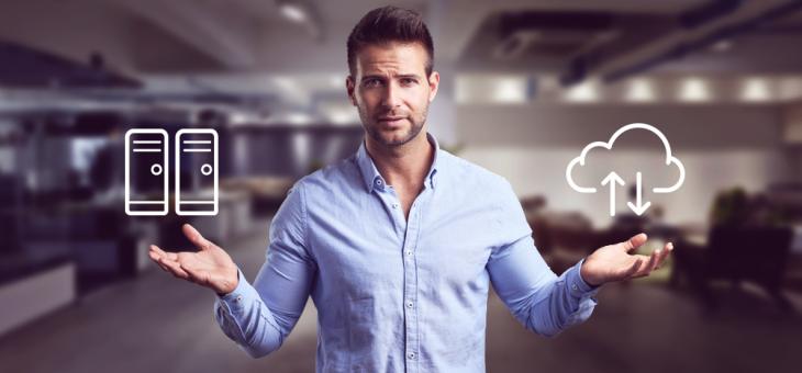 Qual é a melhor solução: Sistema local instalado ou Nuvem de armazenamento?