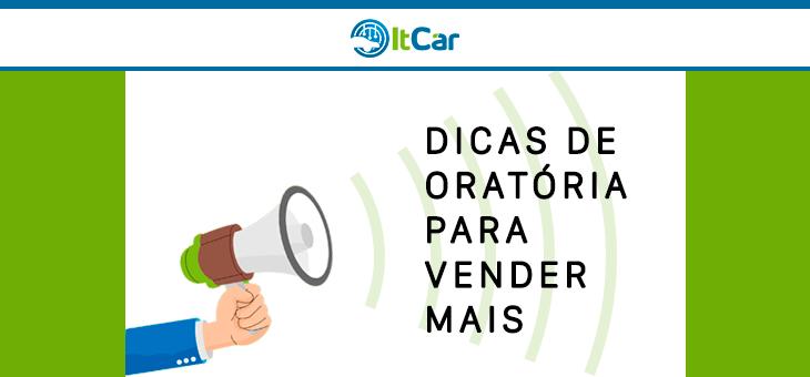 DICAS DE ORATÓRIA PARA VENDER MAIS
